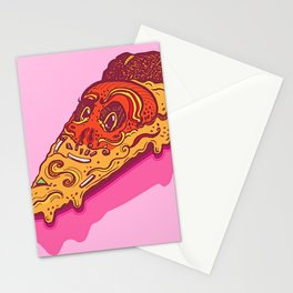 Monsieur Pizza Slice Stationery Cards