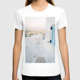 Pyrgos, Santorini, Greece T-shirt