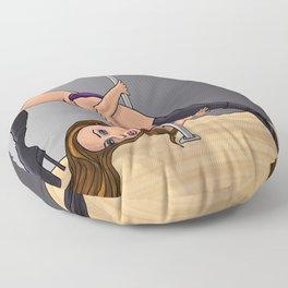 Pole Dancer Floor Pillow