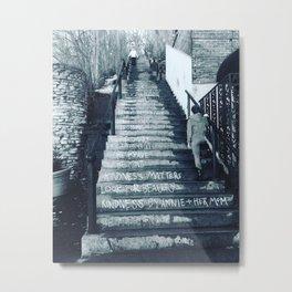 The Moral Stairs Metal Print
