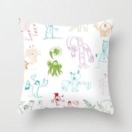 Bruin Ollie Throw Pillow