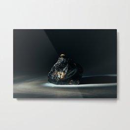 Obsidian Metal Print