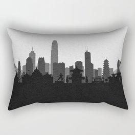City Skylines: Hong Kong Rectangular Pillow
