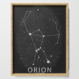 Orion Constellation 'The Hunter' Serving Tray