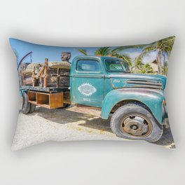 Vintage Truck Rectangular Pillow