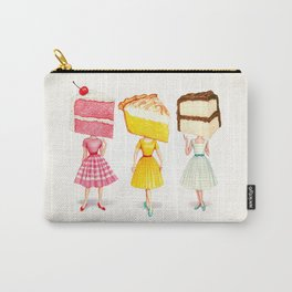 Cake Head Pin-Ups Carry-All Pouch