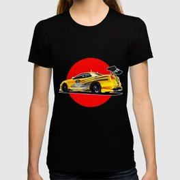 Sports car Japanese style. T-shirt