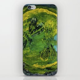 Dragonfly Dance #5 iPhone Skin