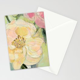 Spring Peonies Stationery Cards