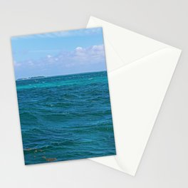 The Caribbean Sea Stationery Cards