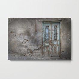 Old Door in Tbilisi Metal Print