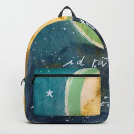 Jungian Moon Backpack