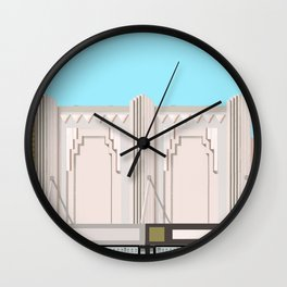 Art Deco Detail Junction Street No.2 Wall Clock