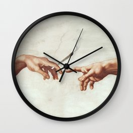 Adam and The God Wall Clock