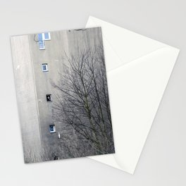 window view Stationery Cards