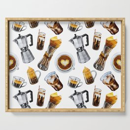 Coffee obsession  Serving Tray