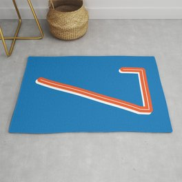 The Lucky Number Seven Rug