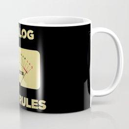 Analog VU Volume Unit Meter Sound Engineer Retro Coffee Mug
