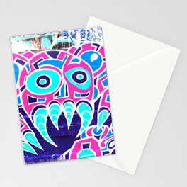 Angry Octupus - Graffiti - Street Art Stationery Cards