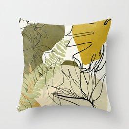 bungle jungle 2 Throw Pillow