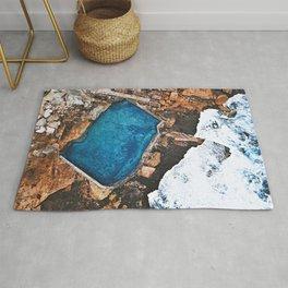 Mahon Pool Maroubra Sydney, Australia | Aerial Rug