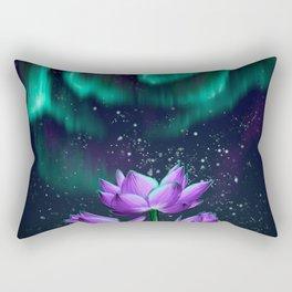 Emerald Embers Rectangular Pillow
