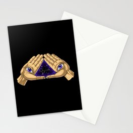 DMT Molecule Trip Stationery Cards