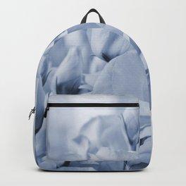 Soft blue lisianthus - Hampton Style Backpack