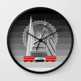 London Scene Wall Clock