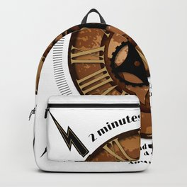 2 Minutes to Midnight Backpack