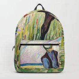 Edvard Munch - The Haymaker Backpack