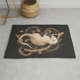 Blessings Surround You Rug