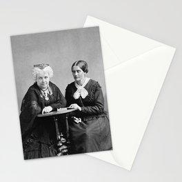 Elizabeth Cady Stanton and Susan B. Anthony - Napoleon Sarony Stationery Cards