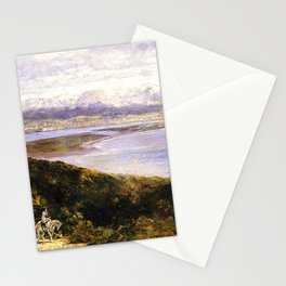 San Diego Bay From Point Loma 1907 By Thomas Hill | Reproduction Stationery Cards