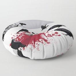 Murder Detail Floor Pillow
