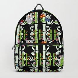 Cute pair of Koalas - Black Backpack