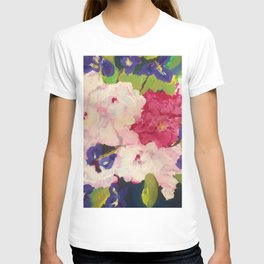 Peonies and Iris T-shirt