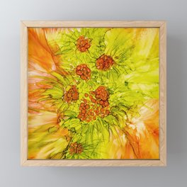 In Orange Framed Mini Art Print