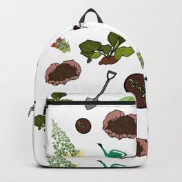 Gardening Print Backpack