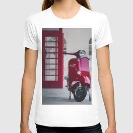 Red Vespa T-shirt