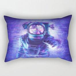 Transmission Error Rectangular Pillow