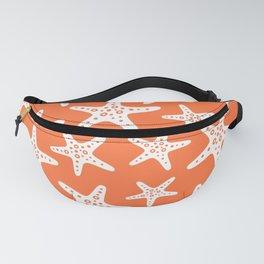 Sweet Starfish Pattern 232 Orange Fanny Pack