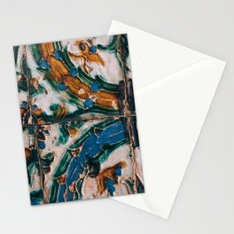 Spanish tiles Stationery Cards