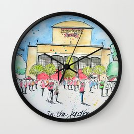 In the Junction Wall Clock