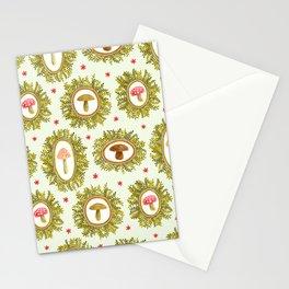 framed shrooms Stationery Cards