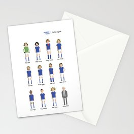Ipswich Town - All-time squad Stationery Cards