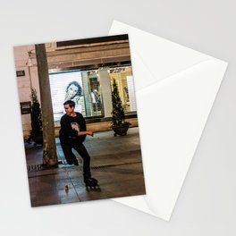 Roller, sport Stationery Cards