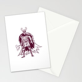 Odin Viking Warrior Nordische Mythologie Stationery Cards