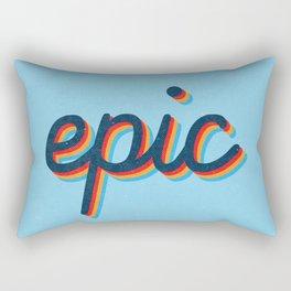 Epic - blue version Rectangular Pillow
