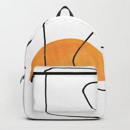 Lignes et galets Backpack